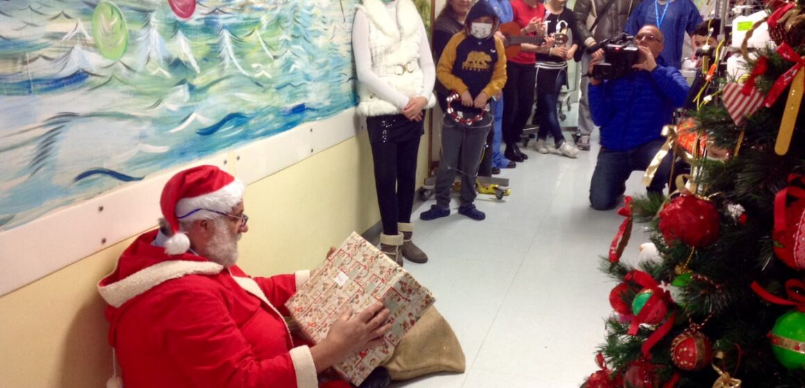 Babbo Natale in reparto