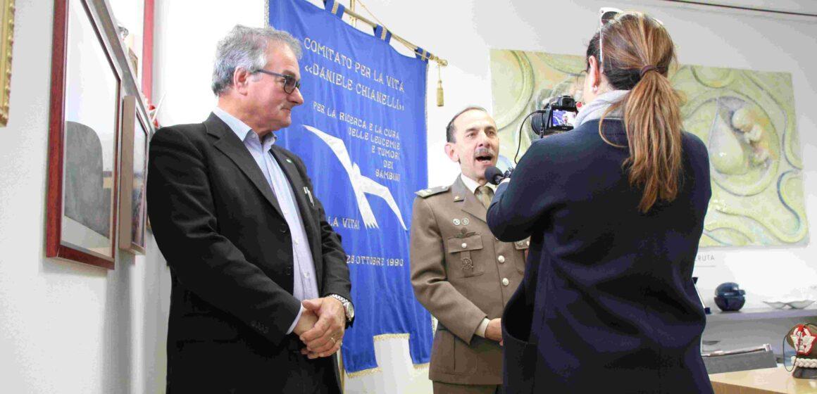 Franco Chianelli e il generale Maugeri