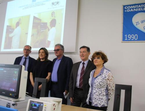 Il Comitato Chianelli dona 5 monitor del valore di 54mila euro a Reparto di Oncoematologia Pediatrica
