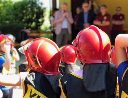 Pompieropoli, al parco del Sorriso 205 bambini vigili del fuoco per un giorno