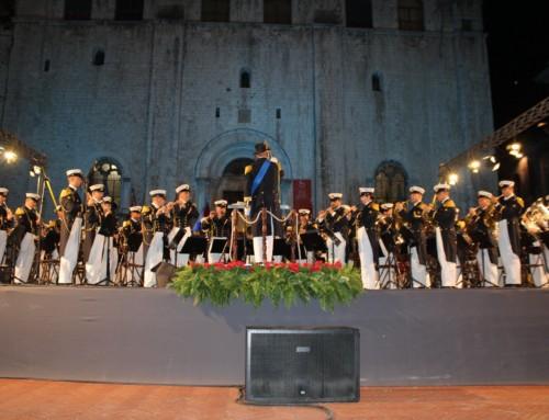 La Banda della Marina militare a Gubbio